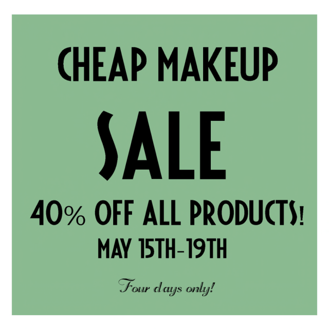Cheap Makeup Sale!